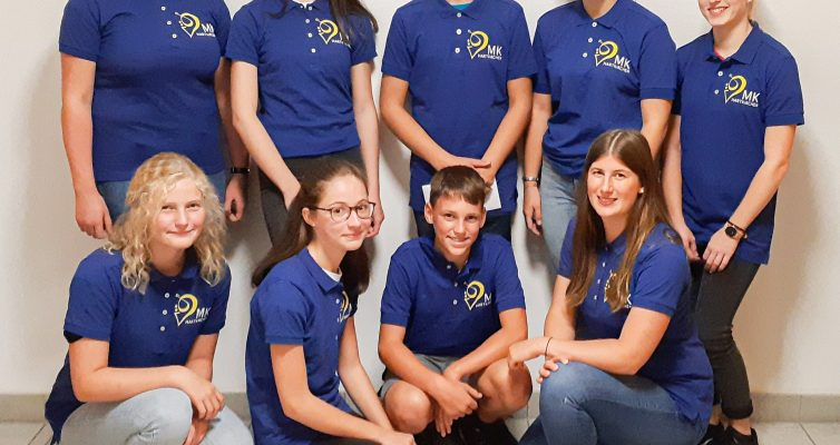 Neun neue Mitglieder bei der MK Hartkirchen